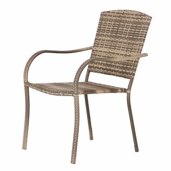 PATIO PETITE(パティオプティ) SAHARA サハラ・スタッキングチェア2 椅子 屋外用家具 人工ラタン いす アウトドア ガーデン チェア テラス バルコニー アジアン|clubestashop