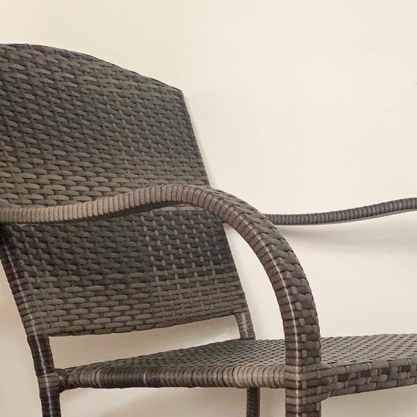 PATIO PETITE(パティオプティ) SAHARA サハラ・スタッキングチェア2 椅子 屋外用家具 人工ラタン いす アウトドア ガーデン チェア テラス バルコニー アジアン|clubestashop|04