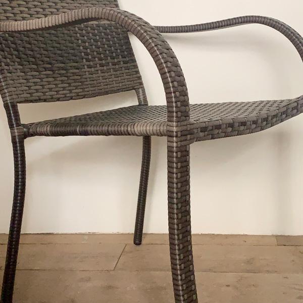 PATIO PETITE(パティオプティ) SAHARA サハラ・スタッキングチェア2 椅子 屋外用家具 人工ラタン いす アウトドア ガーデン チェア テラス バルコニー アジアン|clubestashop|05