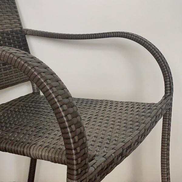 PATIO PETITE(パティオプティ) SAHARA サハラ・スタッキングチェア2 椅子 屋外用家具 人工ラタン いす アウトドア ガーデン チェア テラス バルコニー アジアン|clubestashop|06