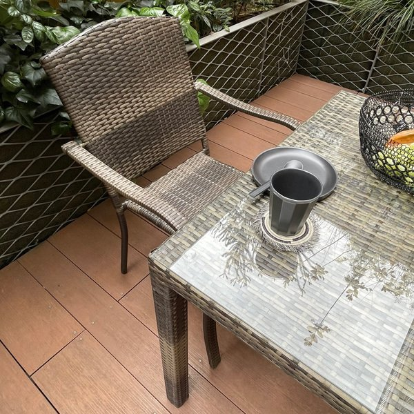 PATIO PETITE(パティオプティ) SAHARA サハラ・スタッキングチェア2 椅子 屋外用家具 人工ラタン いす アウトドア ガーデン チェア テラス バルコニー アジアン|clubestashop|08