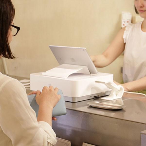 Airレジ スターターパック スター精密  mPOPセット(iPadなし) WHT|cmi-store|05