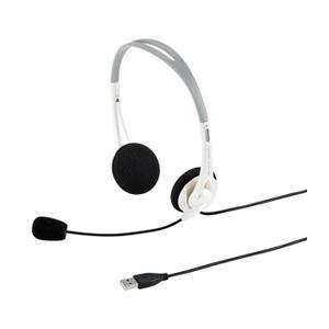 ☆サンワサプライ USBヘッドセット(ホワイト) MM-HSUSB16W cnf3