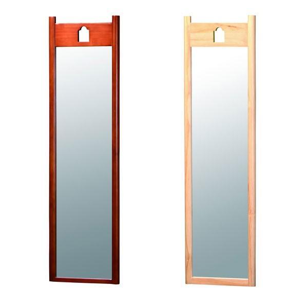 ハングミラー(Lサイズ) ハングミラー 壁掛け鏡 壁掛けミラー ミラー 鏡 カガミ かがみ 壁掛け 全身鏡 全身かがみ 全身カガミ 姿見 家具 イン