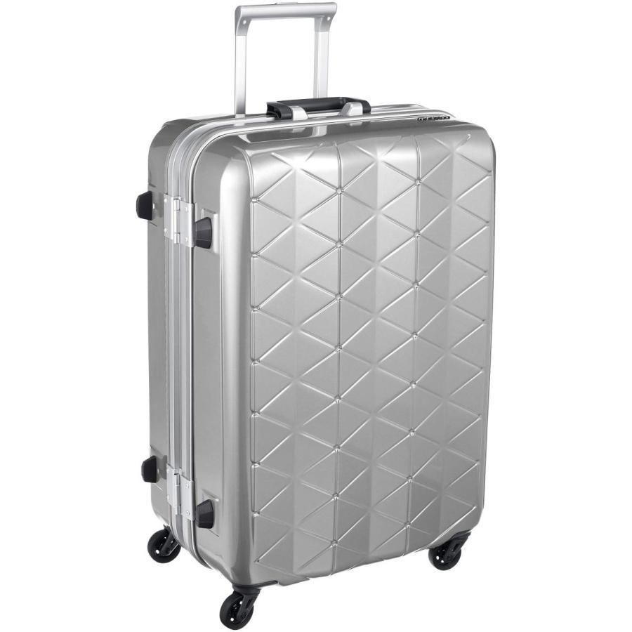 激安超安値 [サンコー] スーツケース フレーム SUPER MG-C LIGHTS 3.8kg MG-C 軽量 73L 消音/静音キャスター MGC1-63 73L 63 cm 3.8kg エンボスヘアラインシルバー, WAWAJAPAN:ca8573b6 --- theroofdoctorisin.com