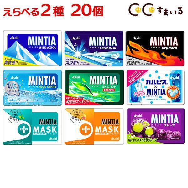 ミンティア まとめ買い 12種類から2種類選べる タブレット 安売り 合計20個 捧呈 ミント