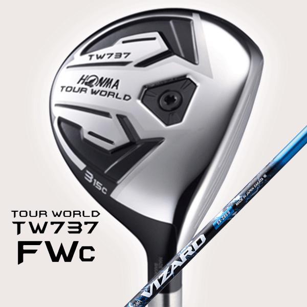 100%本物保証! 【ただいまポイント5倍!!】 HONMA -本間ゴルフ-  TOUR WORLD TW737 FWc フェアウェイウッド  VIZARD EX-Z75 シャフト, VOVO 7c679014