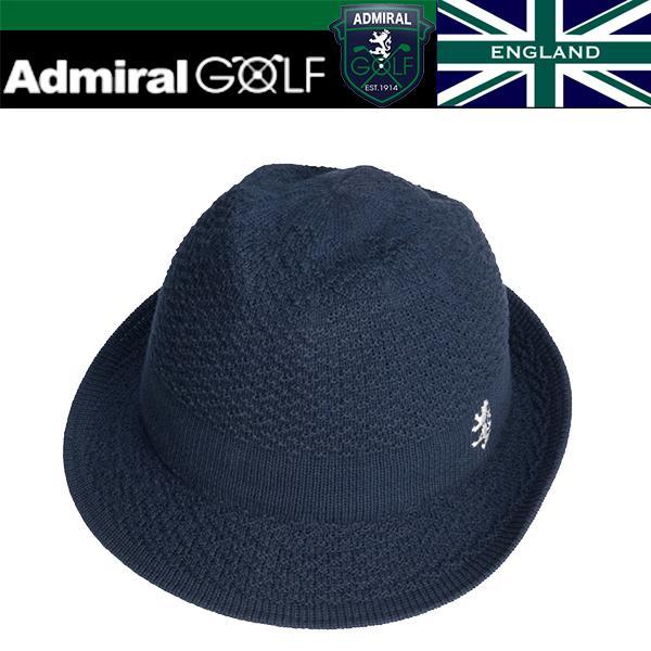 Admiral Golf -アドミラル ゴルフ-  キャップ 【ADMB 713F】 サーモハット  ネイビー(30)