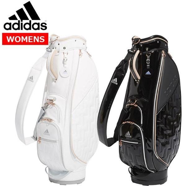 【プライスダウン!!】 adidas -アディダス-  ウィメンズ エナメルキャディバッグ  【HFF87】 【レディース】