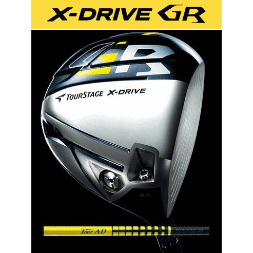 【数量限定特価】 ツアーステージX-DRIVE GR(2014) ドライバーTour AD B14-03w カーボンシャフト