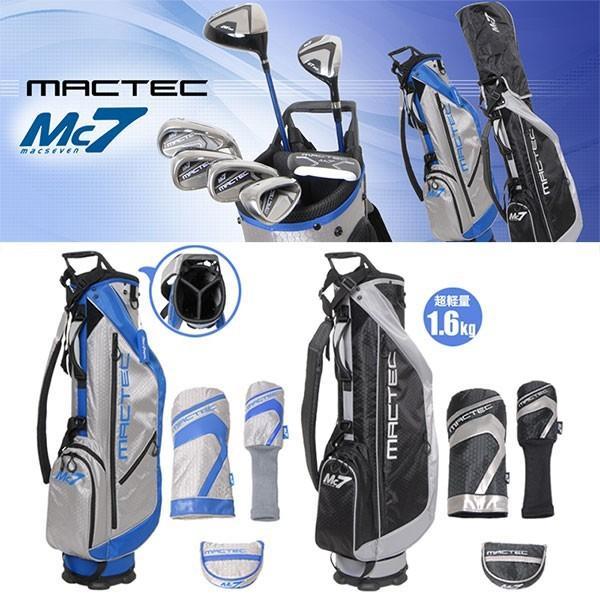 朝日ゴルフ  MACTEC MC7(マックセブン) クラブセット DW×1、UT×1、IR×4、PT×1 専用ヘッドカバー、ラーニングDVD付き 【送料無料】