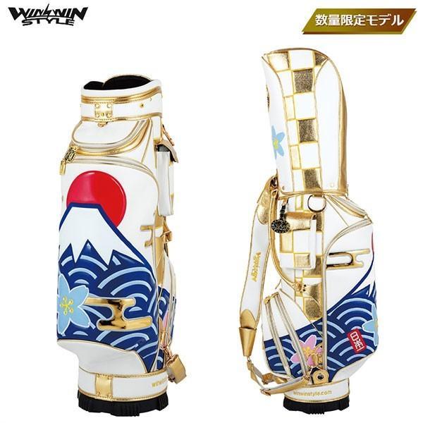 WINWIN STYLE 富士山/日本一 CART BAG GOLD Version 【CB-349】