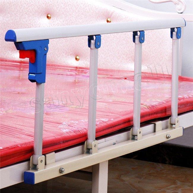 ベッドガード 転落防止 値段下げ ベッドフェンス ベッドサイドレール ベッドサイドガード 折りたたみ式 転落防止柵 介護 介助バー ベッドの横 手すり|cocoaru-store|19