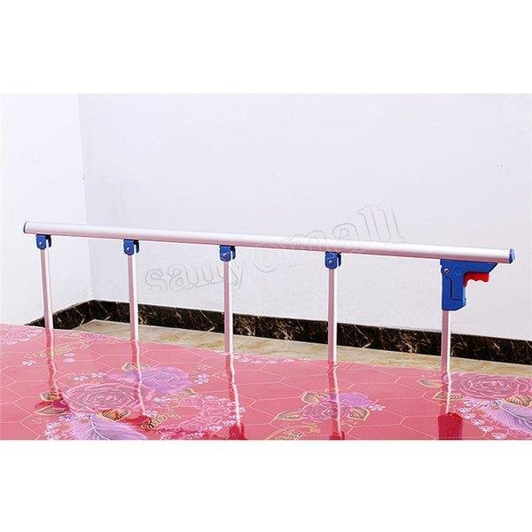 ベッドガード 転落防止 値段下げ ベッドフェンス ベッドサイドレール ベッドサイドガード 折りたたみ式 転落防止柵 介護 介助バー ベッドの横 手すり|cocoaru-store|05