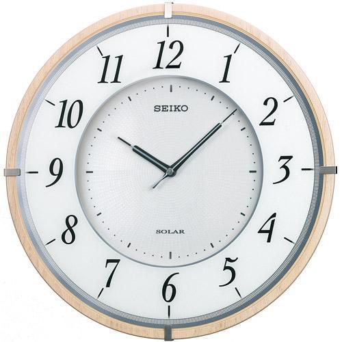 SEIKO セイコー ソーラープラス電波掛時計 SF501B