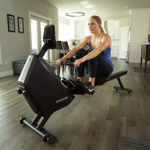 【メーカー直送】ローイング HORIZON Oxford 6 エアローラー 専用アプリfitDisplay対応 減量 筋トレ フィットネス トレーニング 背筋 ダイエット 自宅 ジム