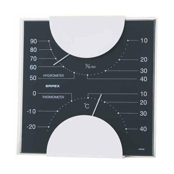 大洲市 MONO 温湿度計 MN-4812 EMPEX エンペックス-健康管理、計測計