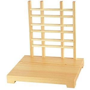 ヤマコー 木製ディスプレイスタンド ナチュラル仕上 格子タイプ 43475 43475 43475 6a4