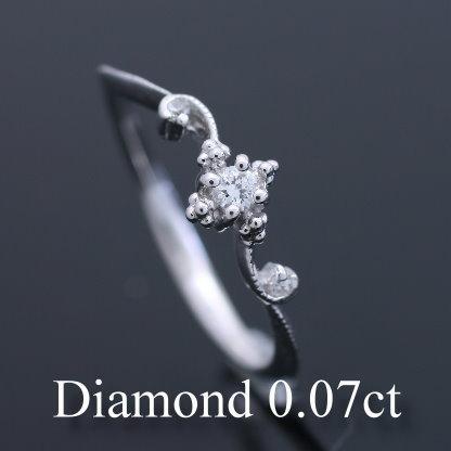 【受注生産品】 ダイヤモンド 指輪 リング プラチナ レディース 人気 ホワイトデー, サカイムラ 193fa9df