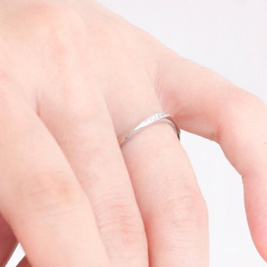 ペアリング 安い 2本セット 天然ダイヤ プラチナ900 ダイヤモンド 金属アレルギー 日本製 ホワイトデー ギフト プレゼント|cococaru|05