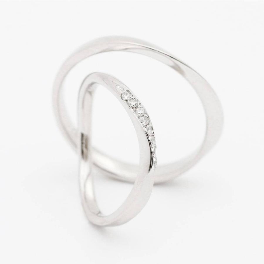 ペアリング 安い 2本セット 天然ダイヤ シルバー925 ダイヤモンド 金属アレルギー 日本製 ホワイトデー ギフト プレゼント|cococaru|04