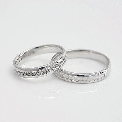 【ラッピング無料】 ペアリング 結婚指輪 安い 2本セット K18 ゴールド マリッジリング 指輪 ダイヤモンド ホワイトデー, キッチン雑貨のセレクトオリジナル ff8b3b95