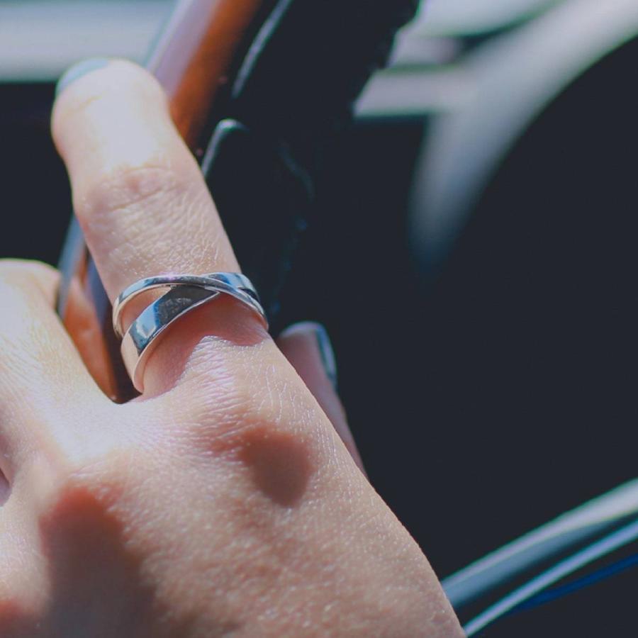 地金 リング シルバー925 真鍮 ファッションリング 品質保証書 金属アレルギー 日本製 ホワイトデー ギフト プレゼント|cococaru|04
