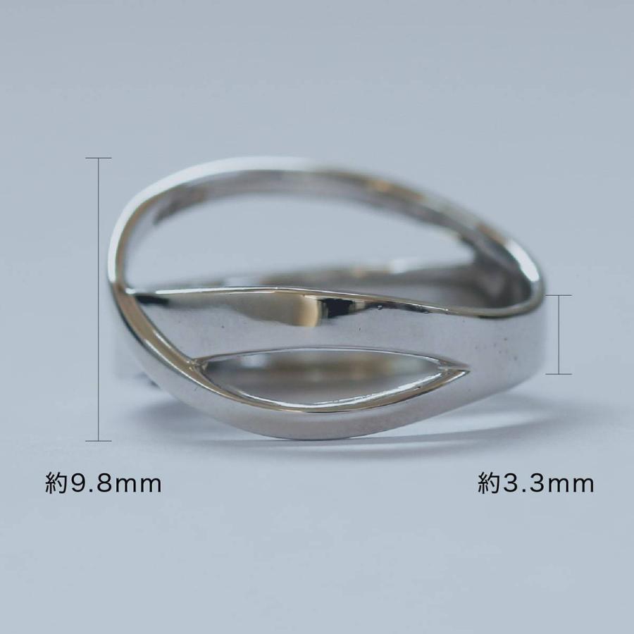 地金 リング シルバー925 真鍮 ファッションリング 品質保証書 金属アレルギー 日本製 ホワイトデー ギフト プレゼント|cococaru|07