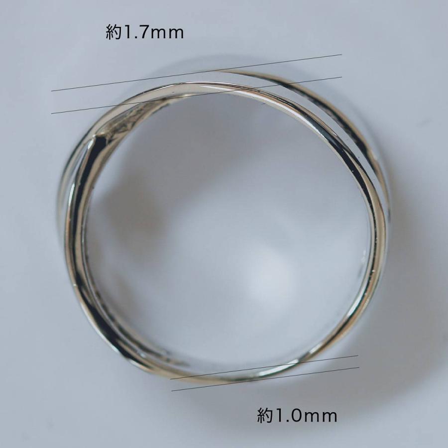 地金 リング シルバー925 真鍮 ファッションリング 品質保証書 金属アレルギー 日本製 ホワイトデー ギフト プレゼント|cococaru|08