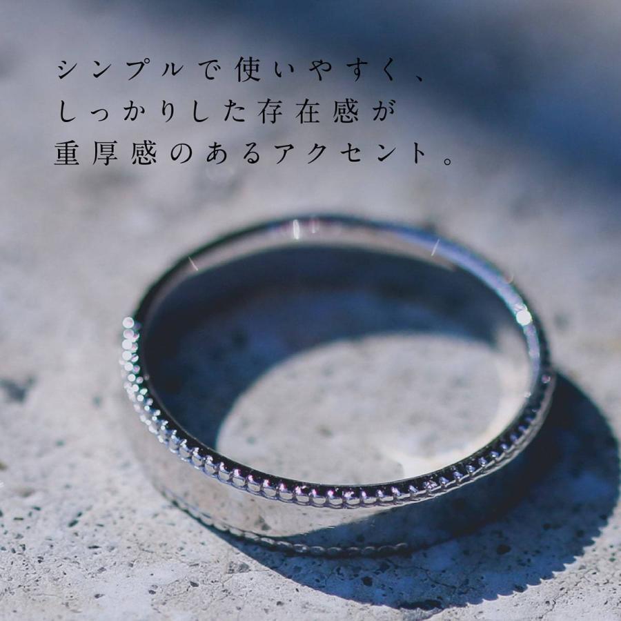 地金 リング シルバー925 真鍮 ファッションリング 品質保証書 金属アレルギー 日本製 ホワイトデー ギフト プレゼント|cococaru|02