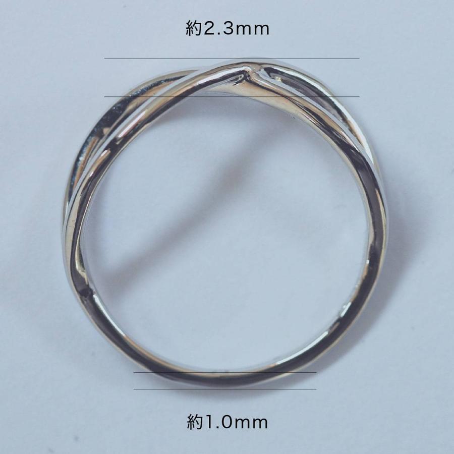 地金 リング シルバー925 ファッションリング 品質保証書 金属アレルギー 日本製 ホワイトデー ギフト プレゼント|cococaru|08