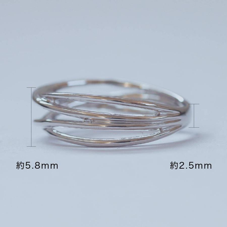 地金 リング シルバー925 ファッションリング 品質保証書 金属アレルギー 日本製 ホワイトデー ギフト プレゼント|cococaru|07