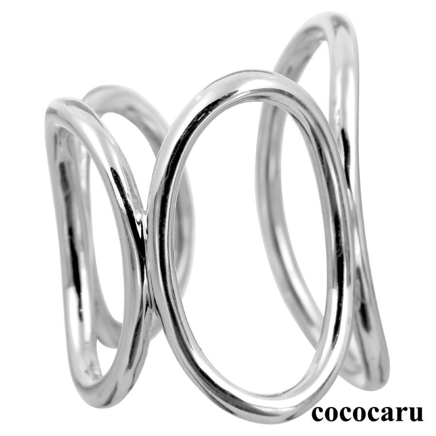 地金 リング フォークリング シルバー925 真鍮 ファッションリング 品質保証書 金属アレルギー 日本製 ホワイトデー ギフト プレゼント|cococaru