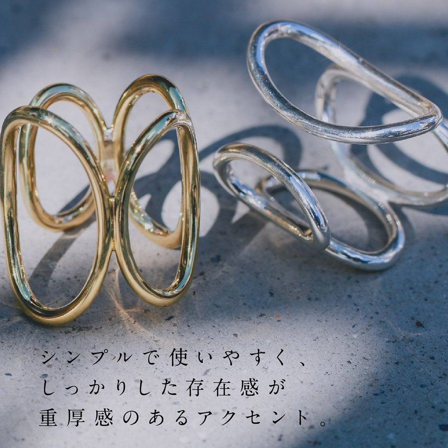 地金 リング フォークリング シルバー925 真鍮 ファッションリング 品質保証書 金属アレルギー 日本製 ホワイトデー ギフト プレゼント|cococaru|02