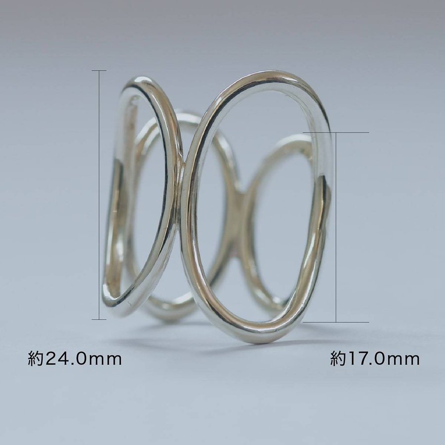 地金 リング フォークリング シルバー925 真鍮 ファッションリング 品質保証書 金属アレルギー 日本製 ホワイトデー ギフト プレゼント|cococaru|07