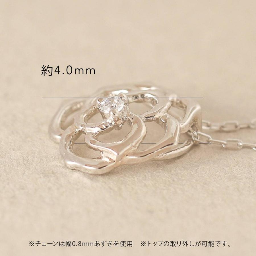 ダイヤモンド ネックレス k18 一粒 イエローゴールド/ホワイトゴールド/ピンクゴールド 品質保証書 天然ダイヤ 日本製 新生活 母の日 ギフト プレゼント|cococaru|09