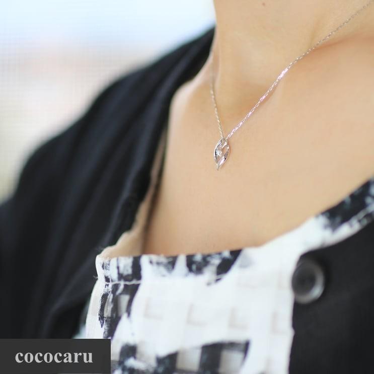 ネックレス ダイヤモンド k18 一粒 イエローゴールド/ホワイトゴールド/ピンクゴールド 品質保証書 天然ダイヤ 日本製 新生活 母の日 ギフト プレゼント cococaru 02