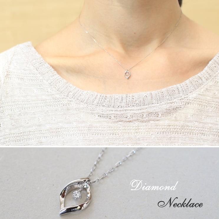 ネックレス ダイヤモンド k18 一粒 イエローゴールド/ホワイトゴールド/ピンクゴールド 品質保証書 天然ダイヤ 日本製 新生活 母の日 ギフト プレゼント cococaru 04