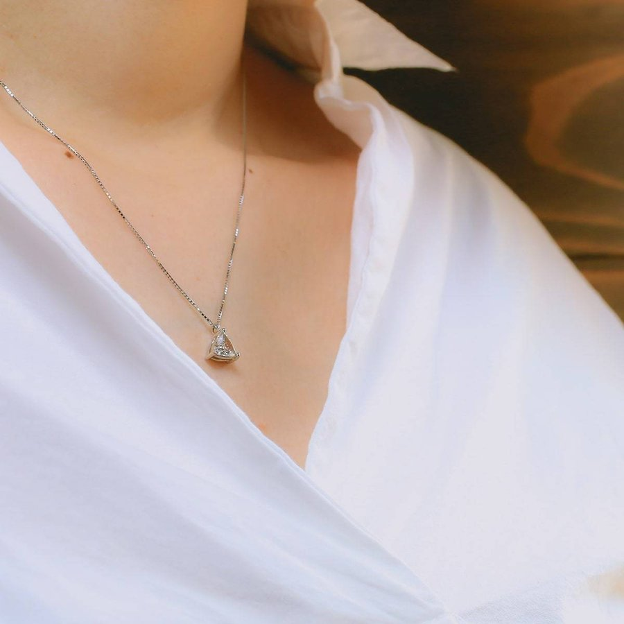 鑑定書付き 一粒ダイヤ ダイヤモンド ネックレス プラチナ900 金属アレルギー 天然ダイヤ 日本製 ホワイトデー ギフト プレゼント|cococaru|10