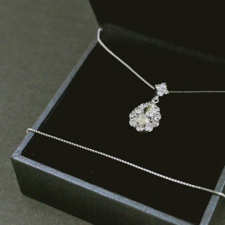 鑑定書付き ダイヤモンド ネックレス プラチナ900 金属アレルギー 天然ダイヤ 日本製 ホワイトデー ギフト プレゼント|cococaru|08