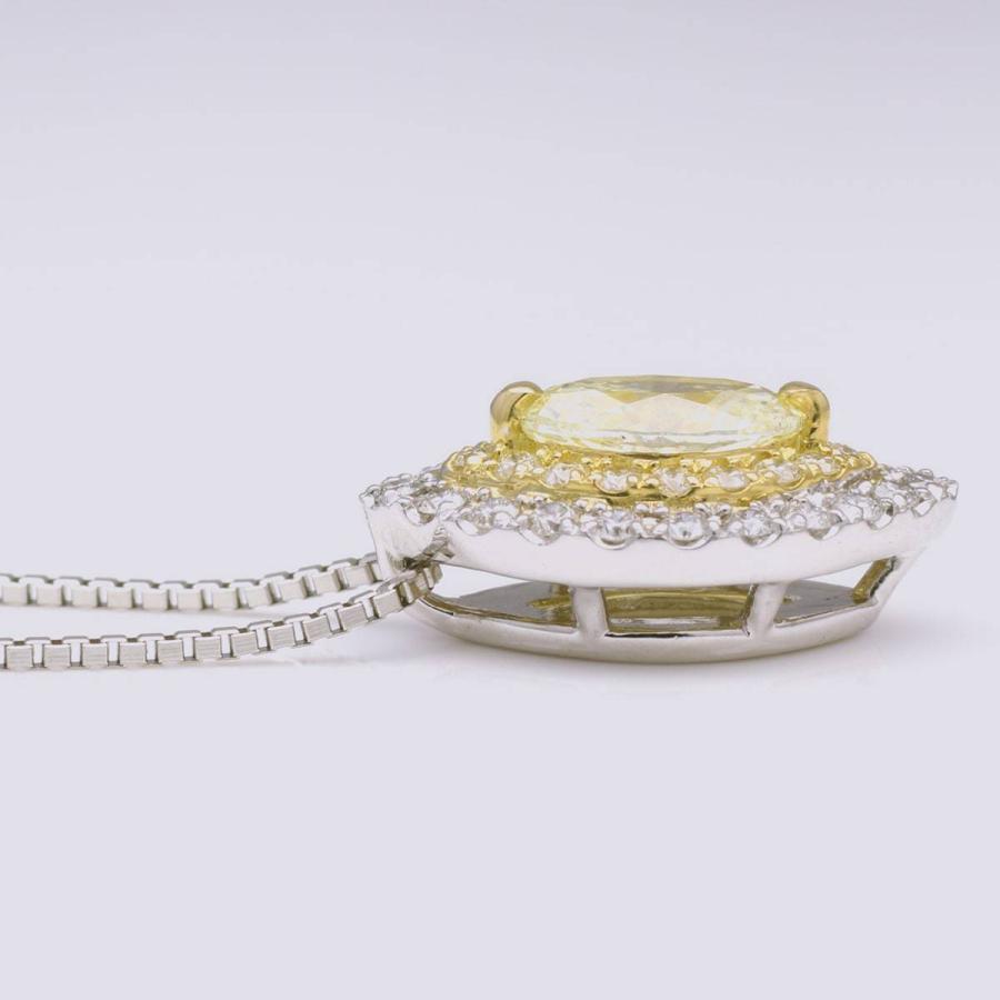 鑑定書付き ダイヤモンド ネックレス プラチナ900 k18 金属アレルギー 天然ダイヤ 日本製 ホワイトデー ギフト プレゼント cococaru 15