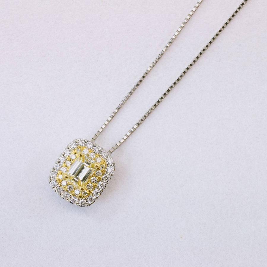 鑑定書付き ダイヤモンド ネックレス プラチナ900 k18 金属アレルギー 天然ダイヤ 日本製 ホワイトデー ギフト プレゼント cococaru 12
