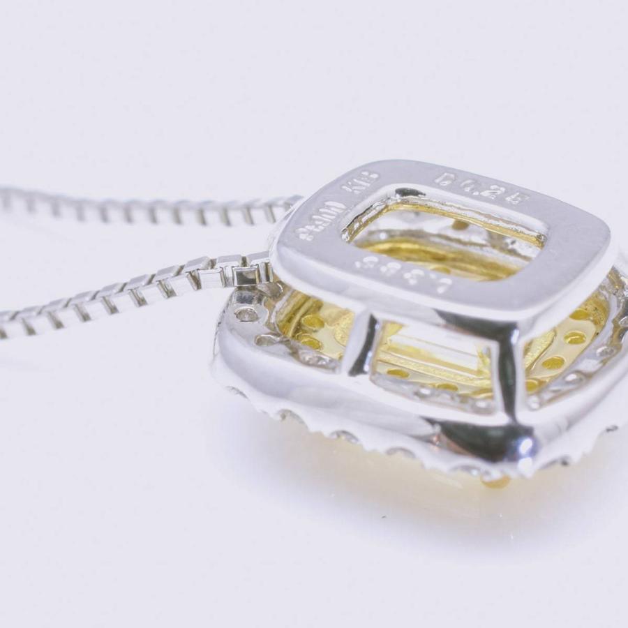 鑑定書付き ダイヤモンド ネックレス プラチナ900 k18 金属アレルギー 天然ダイヤ 日本製 ホワイトデー ギフト プレゼント cococaru 14