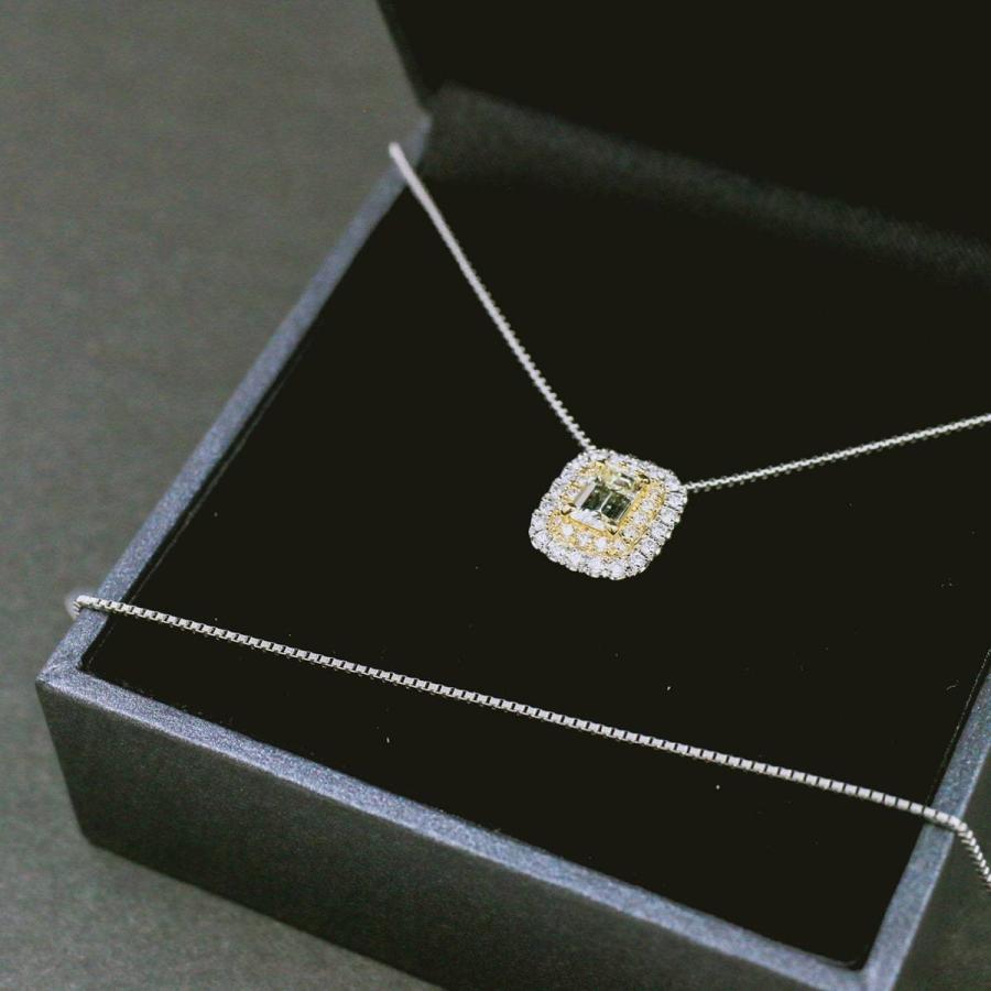 鑑定書付き ダイヤモンド ネックレス プラチナ900 k18 金属アレルギー 天然ダイヤ 日本製 ホワイトデー ギフト プレゼント cococaru 08