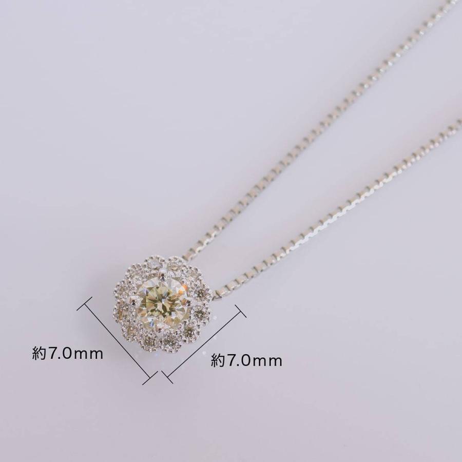 鑑定書付き ダイヤモンド ネックレス プラチナ900 金属アレルギー 天然ダイヤ 日本製 ホワイトデー ギフト プレゼント cococaru 13
