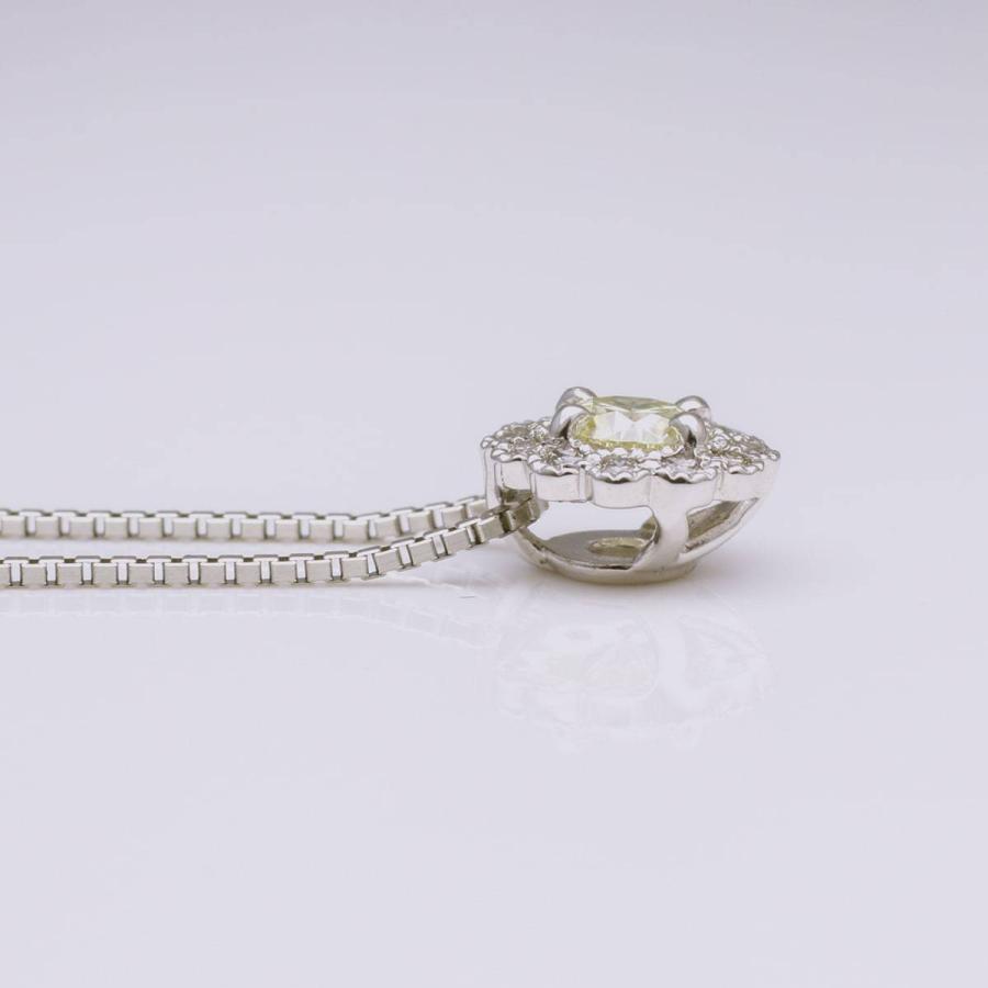 鑑定書付き ダイヤモンド ネックレス プラチナ900 金属アレルギー 天然ダイヤ 日本製 ホワイトデー ギフト プレゼント cococaru 15