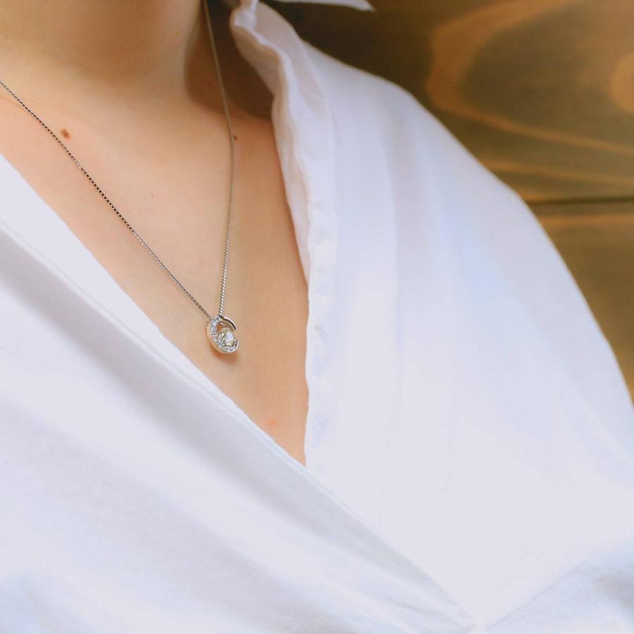 鑑定書付き ダイヤモンド ネックレス プラチナ900 金属アレルギー 天然ダイヤ 日本製 ホワイトデー ギフト プレゼント|cococaru|10