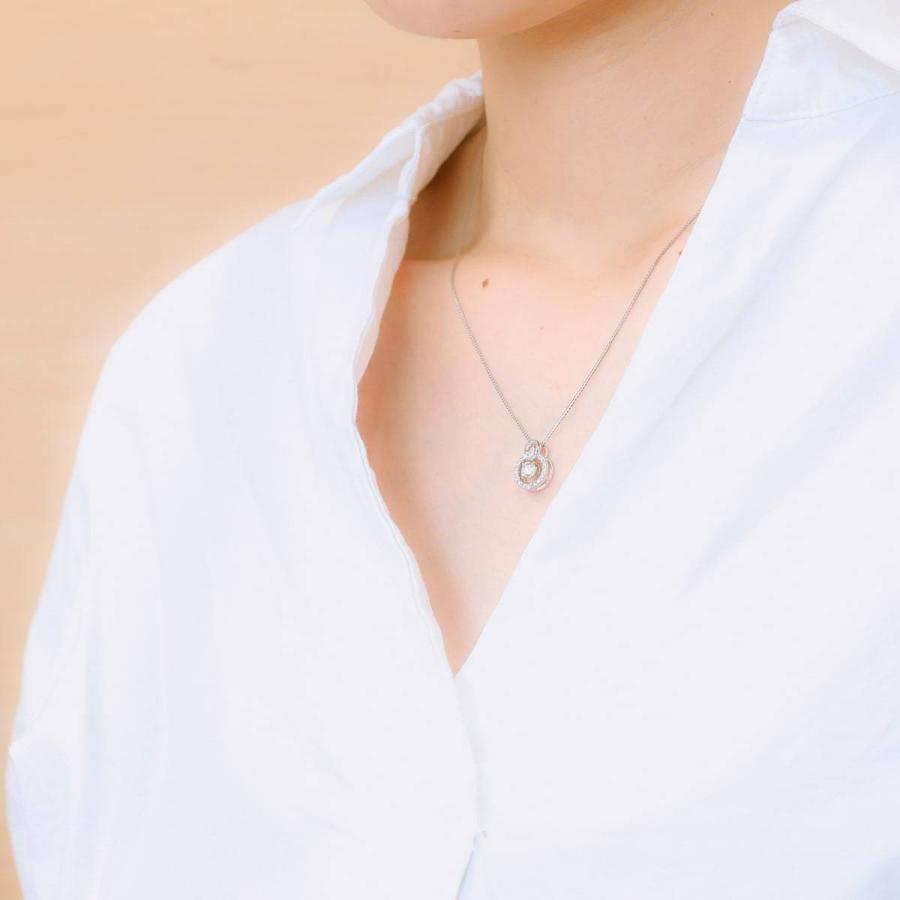 鑑定書付き ダイヤモンド ネックレス プラチナ900 金属アレルギー 天然ダイヤ 日本製 ホワイトデー ギフト プレゼント|cococaru|09