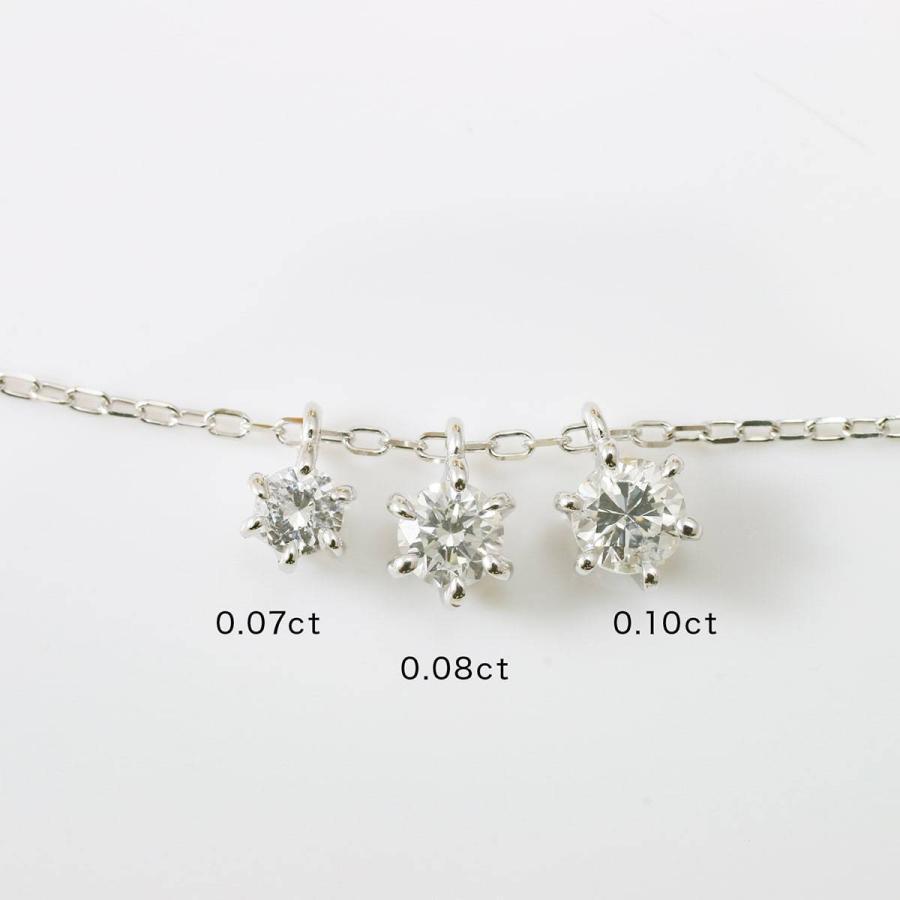 ネックレス ダイヤモンド k10 一粒 イエローゴールド/ホワイトゴールド/ピンクゴールド 品質保証書 天然ダイヤ 日本製 新生活 母の日 ギフト プレゼント|cococaru|07