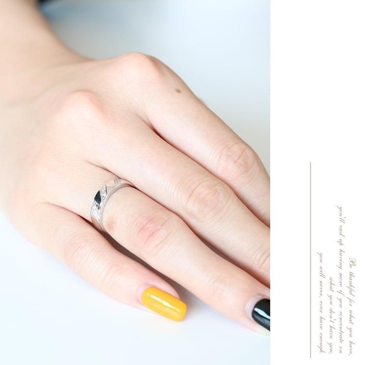 指輪 レディース ダイヤモンド リング プラチナ900 天然ダイヤ ファッションリング 金属アレルギー 日本製 新生活 母の日 ギフト プレゼント|cococaru|03
